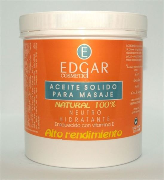 Aceite solido natural 100%